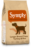 Symply puppy large  breed 12 kg