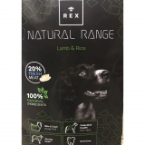 Rex Natural Adult Lamb & Rice 14kg