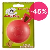Jolly Tug-n-Toss MINI Treat Dispenser 7,5 cm S červená