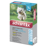 Advantix S.O. pes 4-10 kg a.u.v. sol 1 x 1 ml
