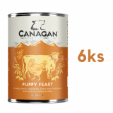 Canagan Puppy Feast 6 x 400g