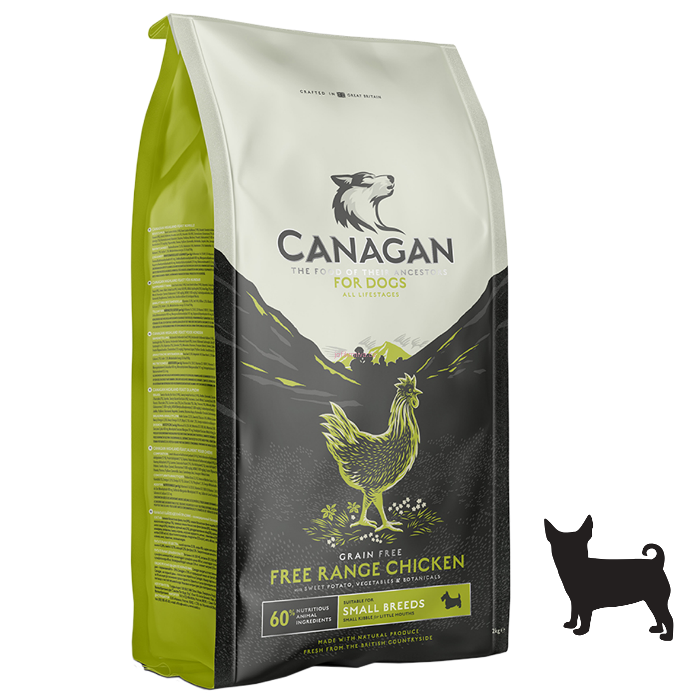 Canagan Dog Small Breeds Free-Run Chicken 6 kg