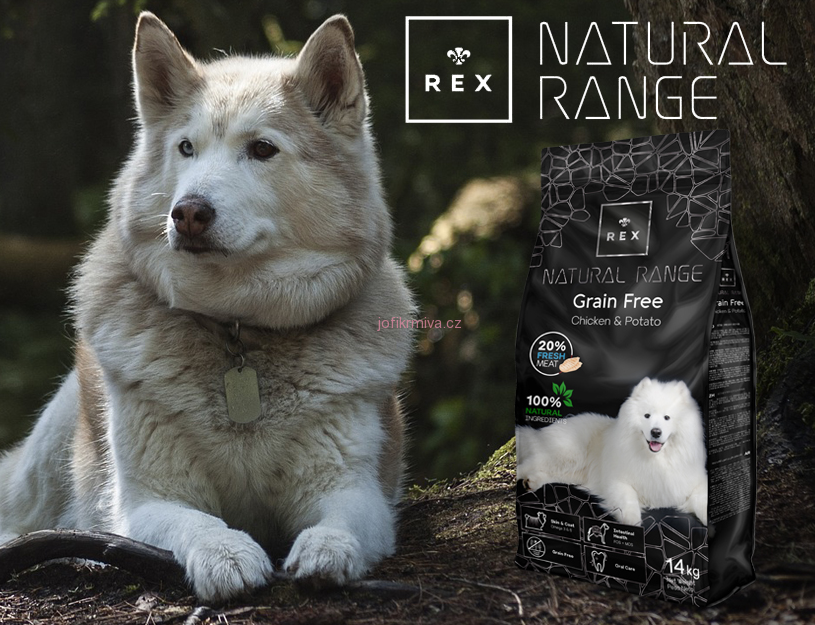 Rex Natural Range Grain Free Chicken & Potato