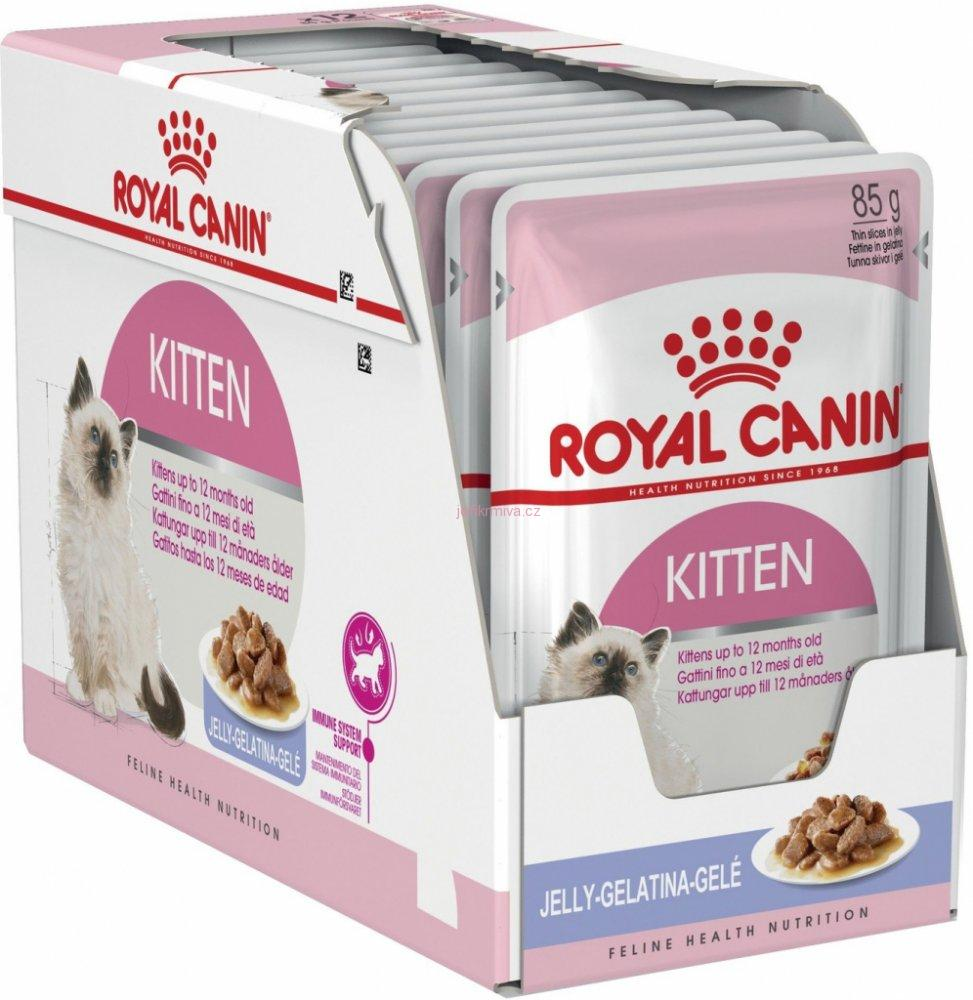 Royal Canin Kitten Loaf, 12x85g