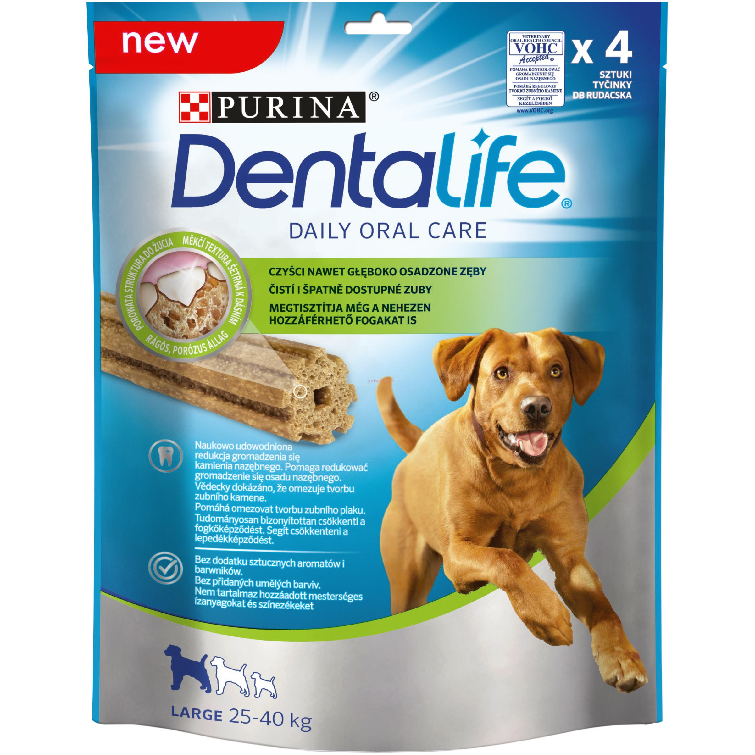 Purina Dentalife Large 4 ks 142 g