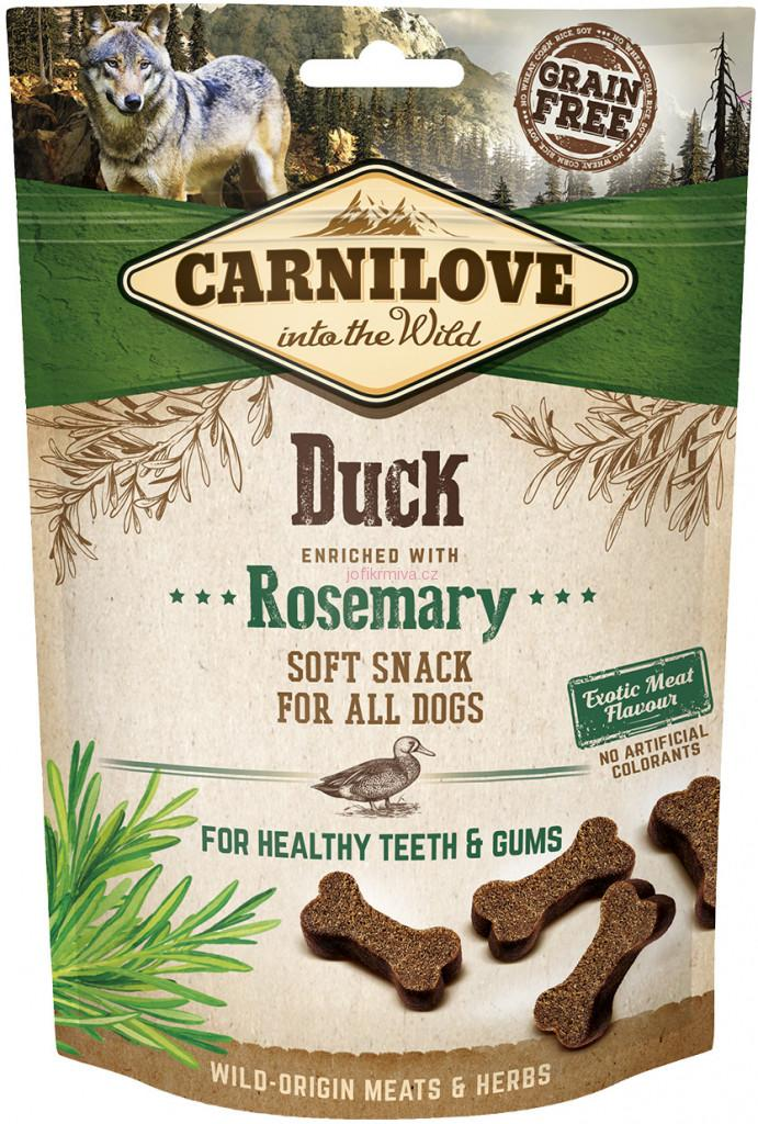 Carnilove Dog Semi Moist Snack Duck&Rosemary 200g