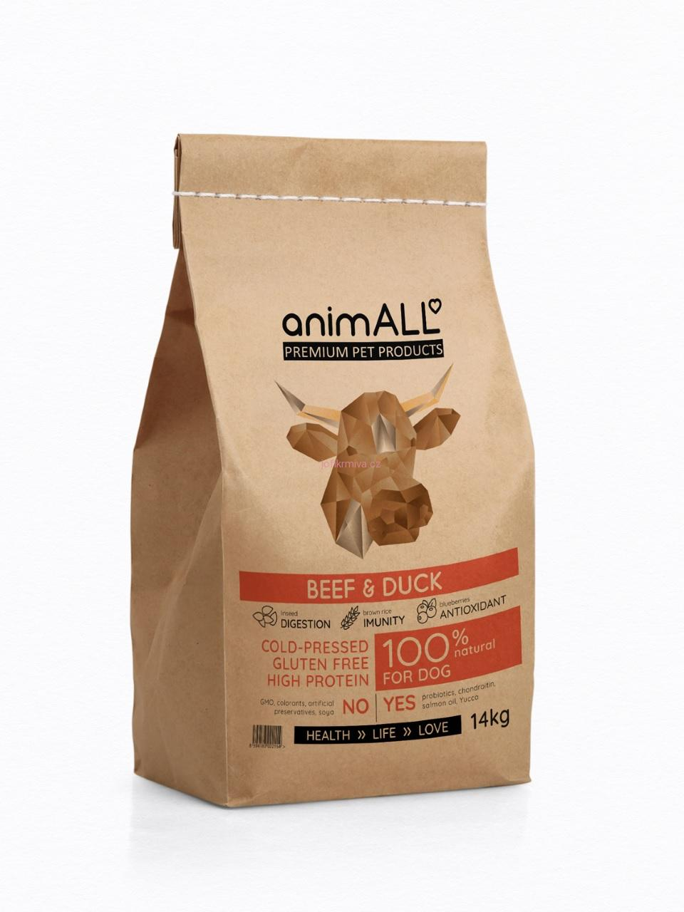 ANIMALL BEEF & DUCK 1,5 kg