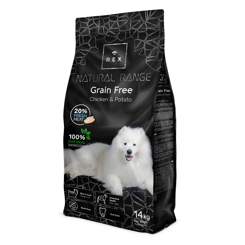 Rex Natural Range Grain Free Chicken & Potato 14kg