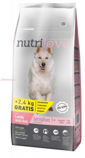Nutrilove dry dog SENSITIVE  3 kg