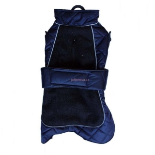 Go Walk Quilted Thermal Coat Navy 12' 30.5 cm