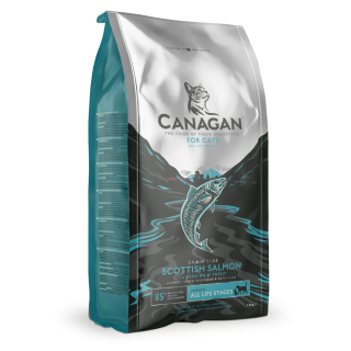 Canagan Cat Dry Scottish Salmon  375g