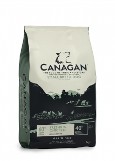 Canagan Free-Run Chicken for Small Breeds 2 kg