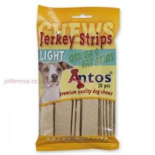 ANTOS jerky light kuřecí 20 ks, 200g