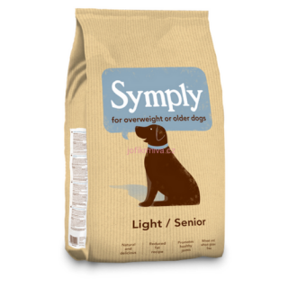 Symply senior/light jehněčí s rýží  12 kg