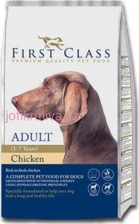 FIRST CLASS  Dog Adult Chicken 12kg