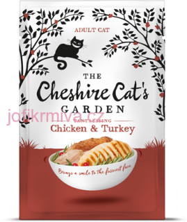 The Cheshire Cats Garden - kuře a krůta 85g
