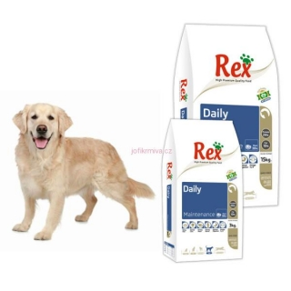 Rex High premium Daily 2x15 kg
