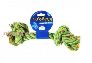 Happy Pet Flossin Fun-2 Knot XL