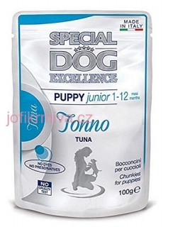 Special dog excellence puppy&junior s tuňákem 100 g