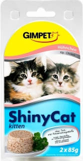 Gimpet ShinyCat Junior kure 2 x 70 g g