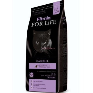 Fitmin Cat For Life Hairball 1,8 kg