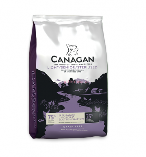 Canagan Cat Dry Light Senior Sterilised 4kg