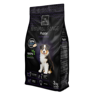 Rex Natural Range Puppy 3 kg