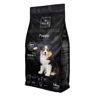 Rex Natural Range puppy 14 kg