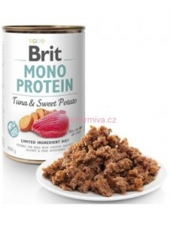 Brit Mono Protein konz. Tuna & Sweet Potato 400 g