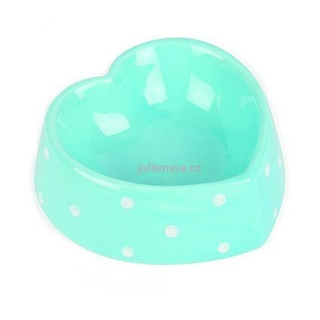 Miska Heart Polka Dot Blue