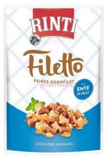 Rinti Dog kapsa Filetto kuře+kachna v želé 100g