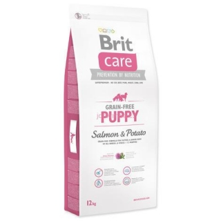 Granule BRIT Care Grain-Free Puppy Salmon & Potato 12kg