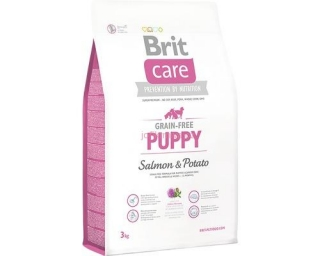 Granule BRIT Care Grain-Free Puppy Salmon & Potato 3kg