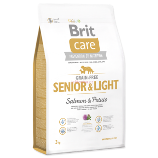 Brit Care Grain-free Senior&Light Salmon & Potato 3 kg