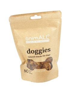 ANIMALL DOGGIES SNACK DUCK AND KRILL SMALL BALLS 200 G