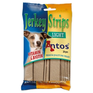 Antos jerky plátek 20ks light 200g